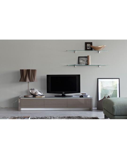 Calligaris Mobili Porta Tv.Porta Tv Mag Struttura In Legno Con Cassetti E Vano Centrale