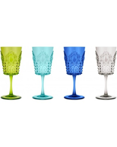 Set 4 WIne Glasses Baci Milano