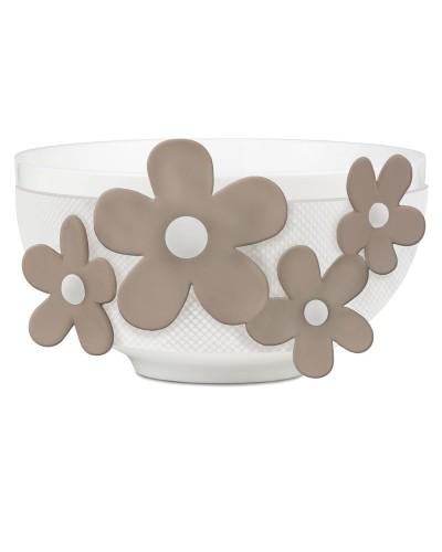 Tazzone Bowl con fiori -  Flower Glam - Baci Milano